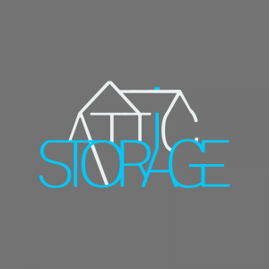 Attic Storage logo design