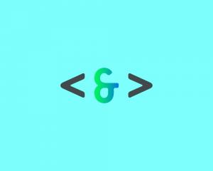 Code & Color logo prototype 1