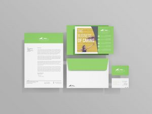 Mountain Empire Agency Alliance graphic design package