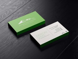 Mountain Empire Agency Alliance business card mockup