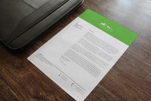 Mountain Empire Agency Alliance letterhead design