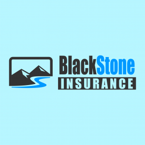 Blackstone Insurance logo design
